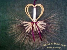 wheat weaving Wedding Mordiford